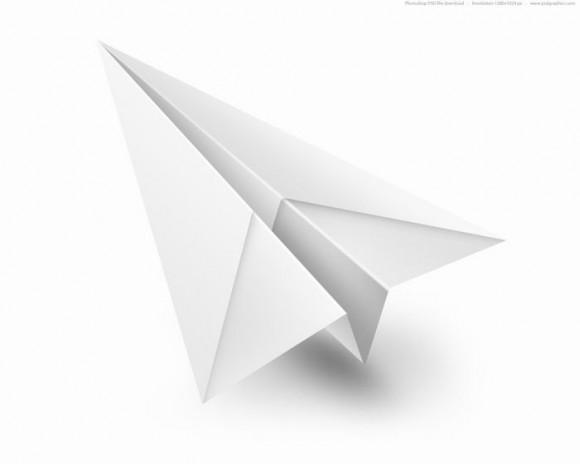 hacer aviones de papel