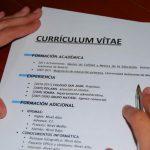 Como hacer un currículum vitae