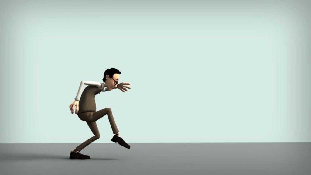 caminar sin hacer ruido