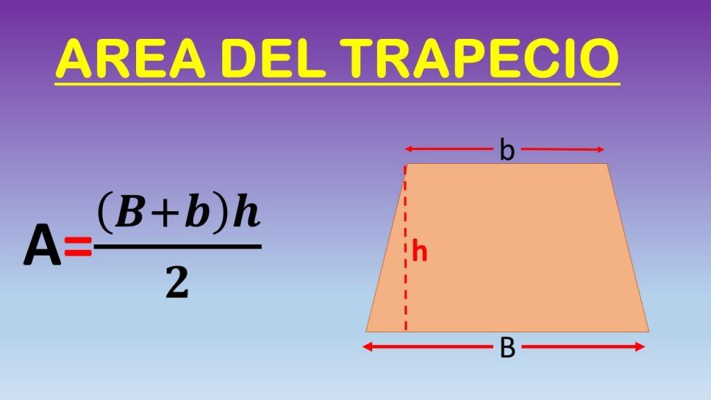 hallar la altura de un trapecio