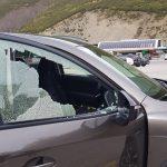 Como romper el cristal de un coche sin hacer ruido