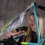 Como se pinta una bici antigua