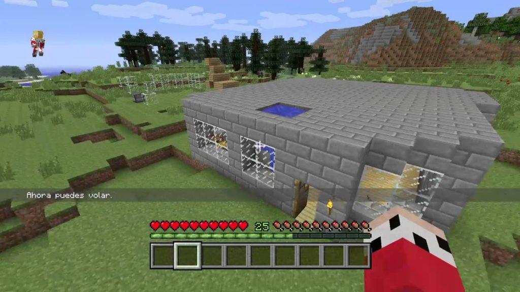 volar en Minecraft