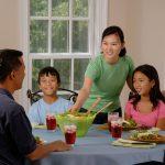 Como comportarse en la mesa