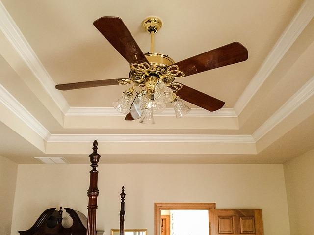instalar ventilador de techo