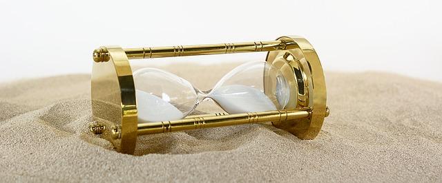 hacer un reloj de arena