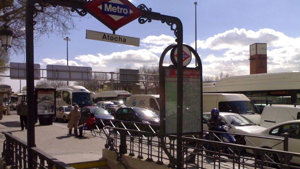 llegar a Atocha