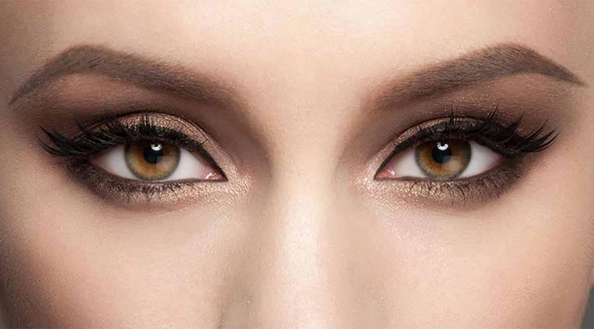 Como resaltar los ojos marrones
