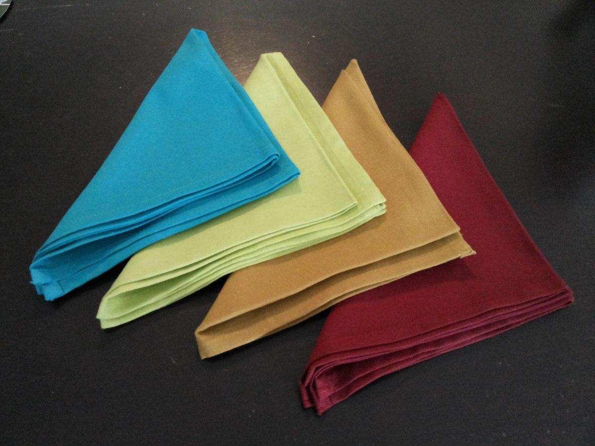 Como doblar servilletas de tela