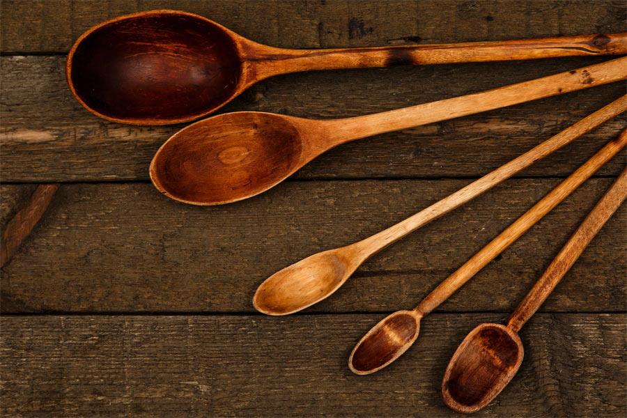 Como hacer una cuchara de madera