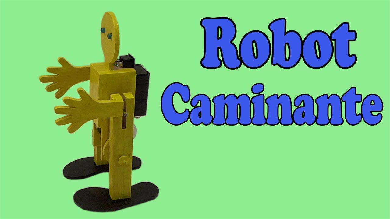 Como hacer un robot casero que camine
