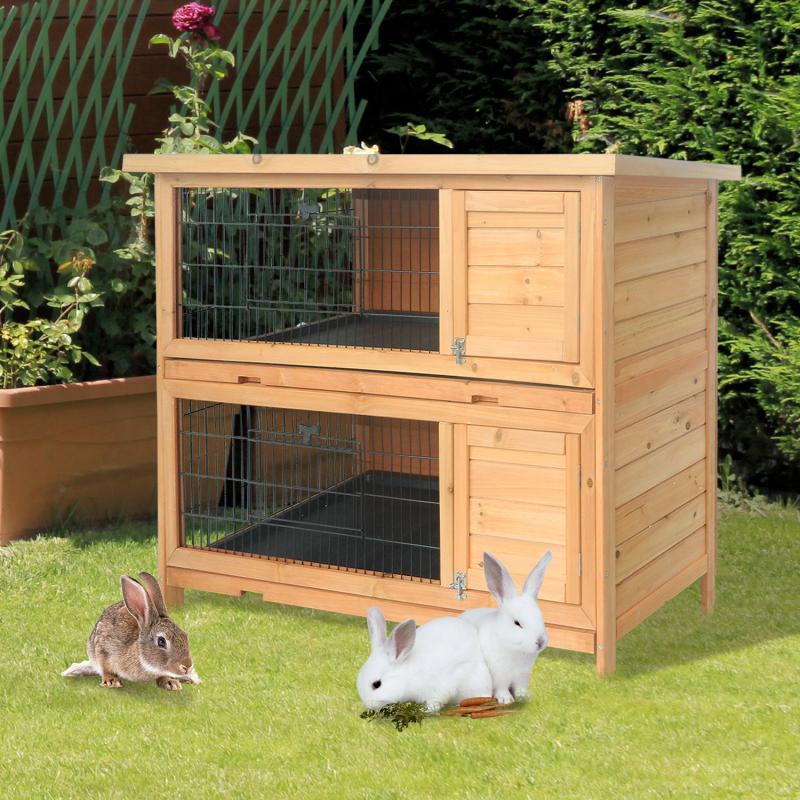 Como hacer una jaula para conejos