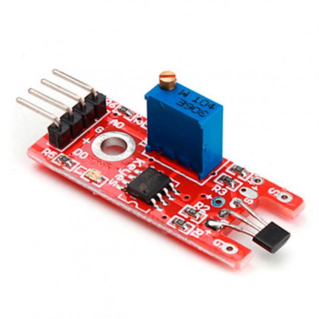 Como hacer un sensor de efecto hall casero