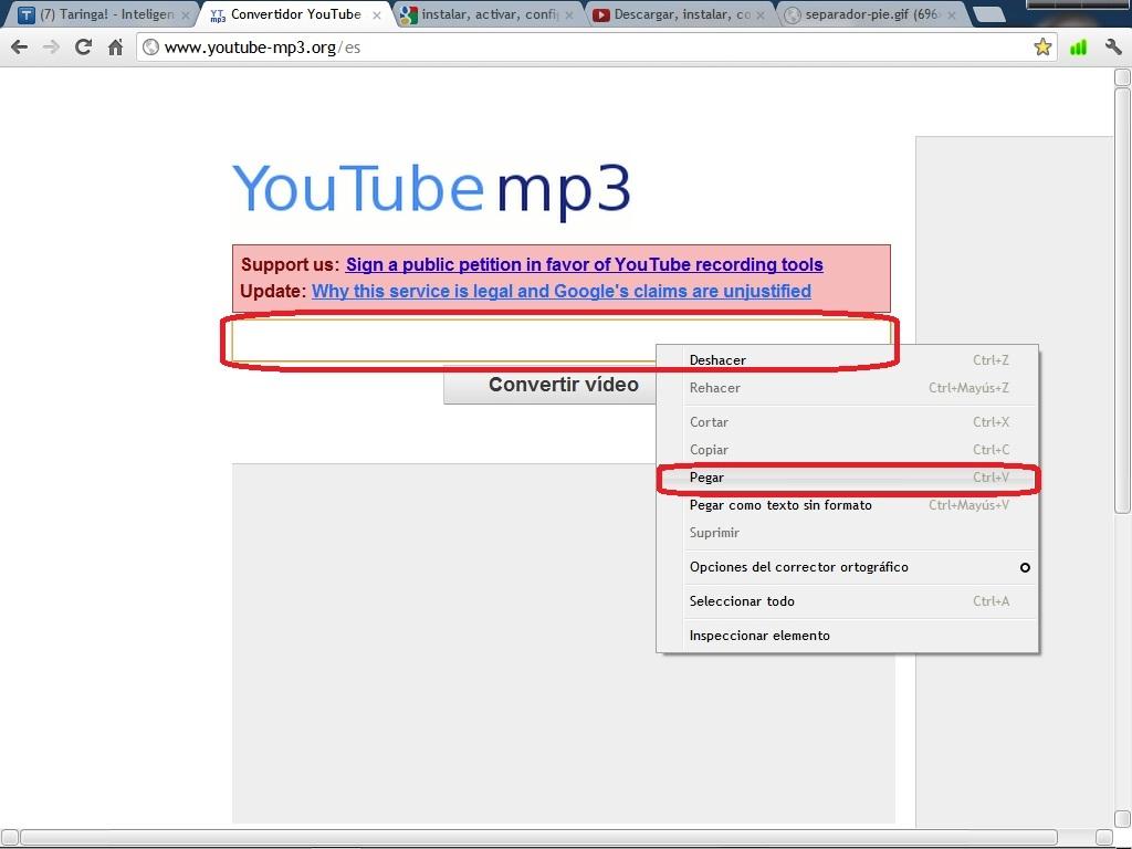 Cómo convertir videos de YouTube en Mp3