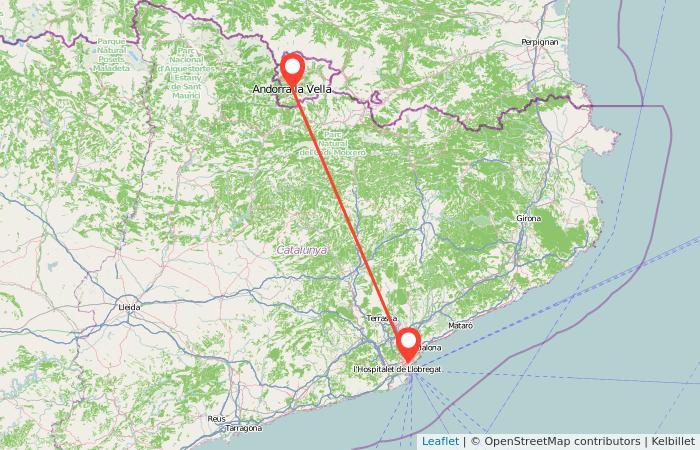 Cómo ir de Barcelona a Andorra