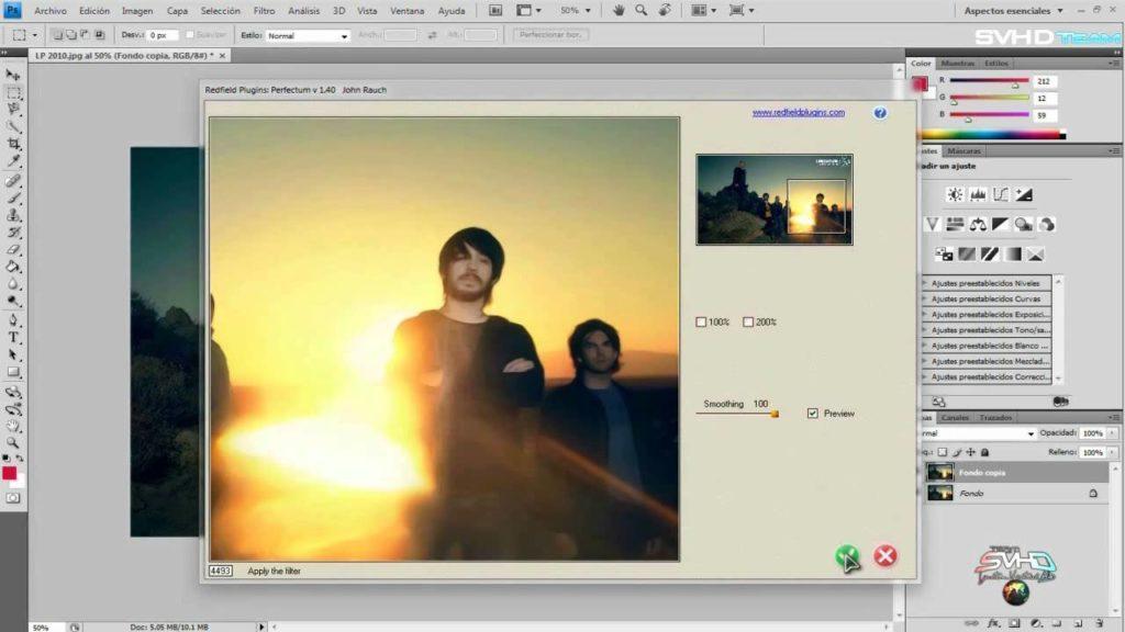 mejorar la calidad de una imagen en Photoshop