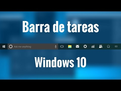 barra de tarea de Windows