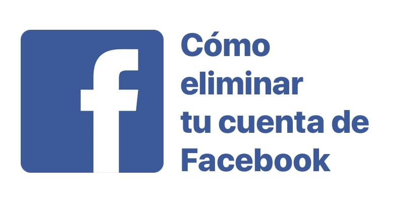 Como cerrar una cuenta de Facebook