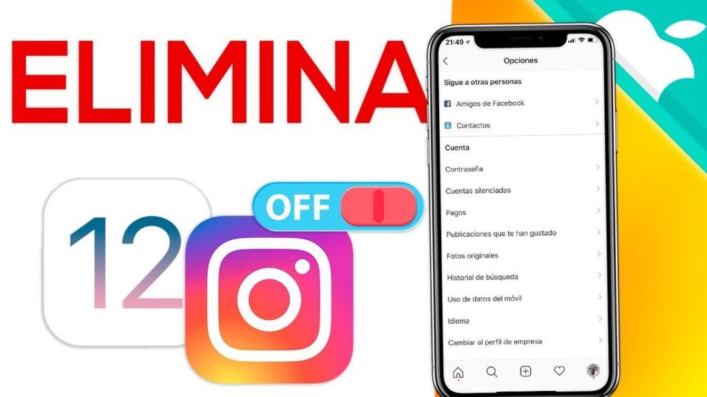 cerrar una cuenta de Instagram