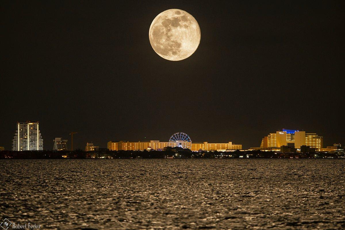 Como fotografiar la luna llena