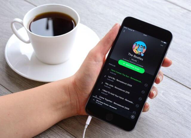 como funciona Spotify