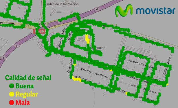 comprobar la cobertura de fibra Movistar