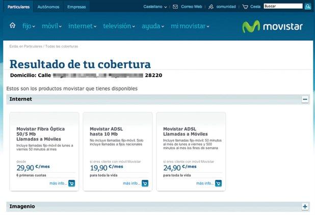 Como comprobar la cobertura de la fibra Movistar