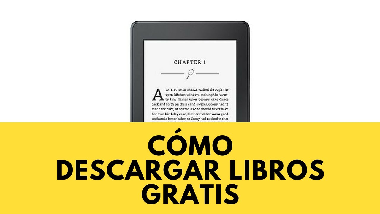 como descargar libros gratis
