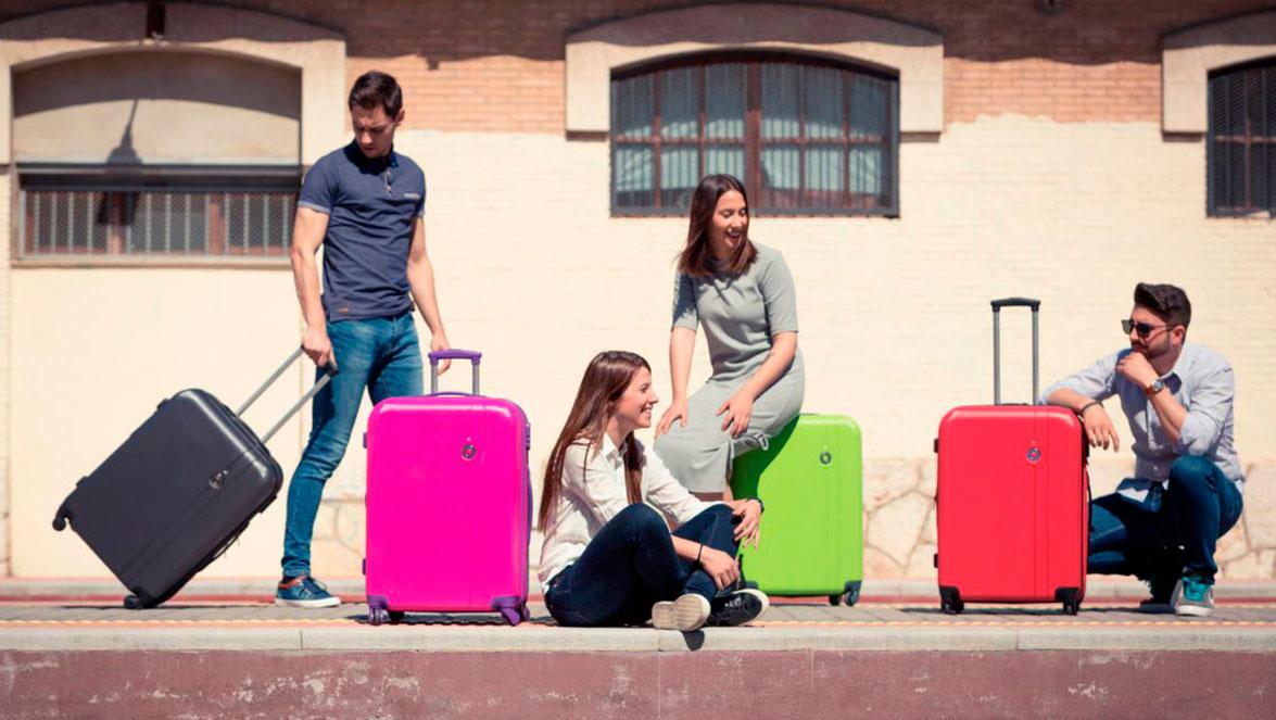 como elegir un juego de maletas