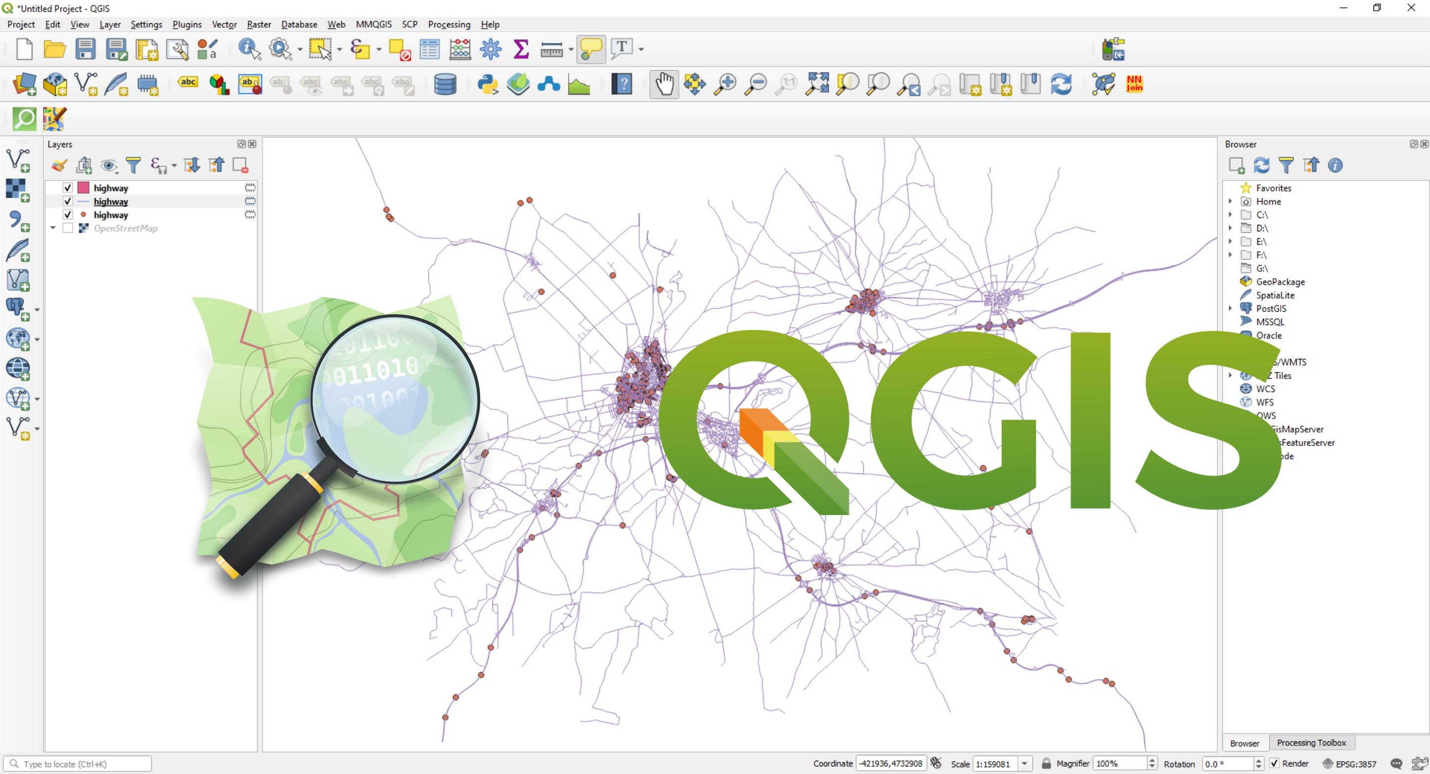 como usar QGIS