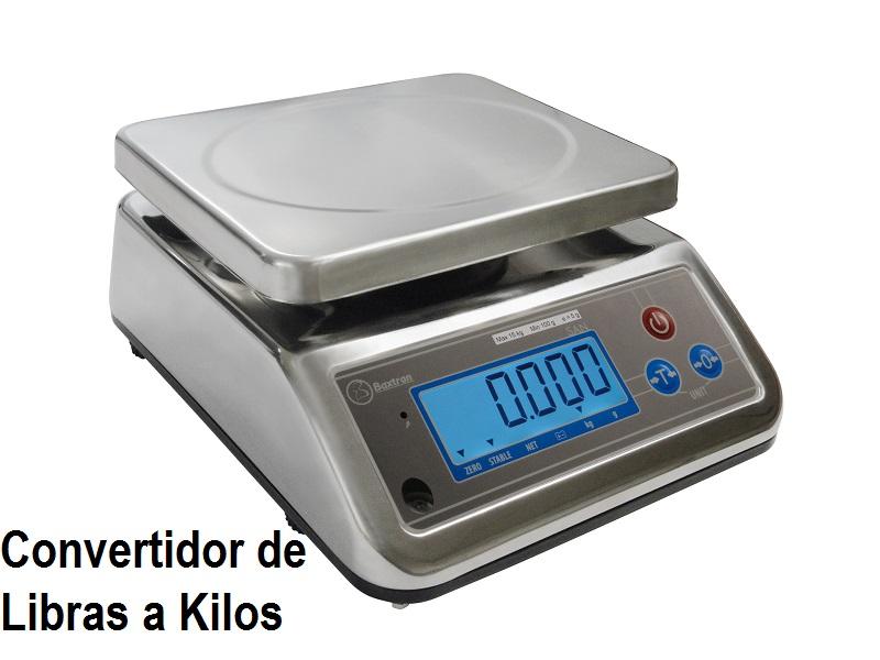 El mejor convertidor de libras a kilos