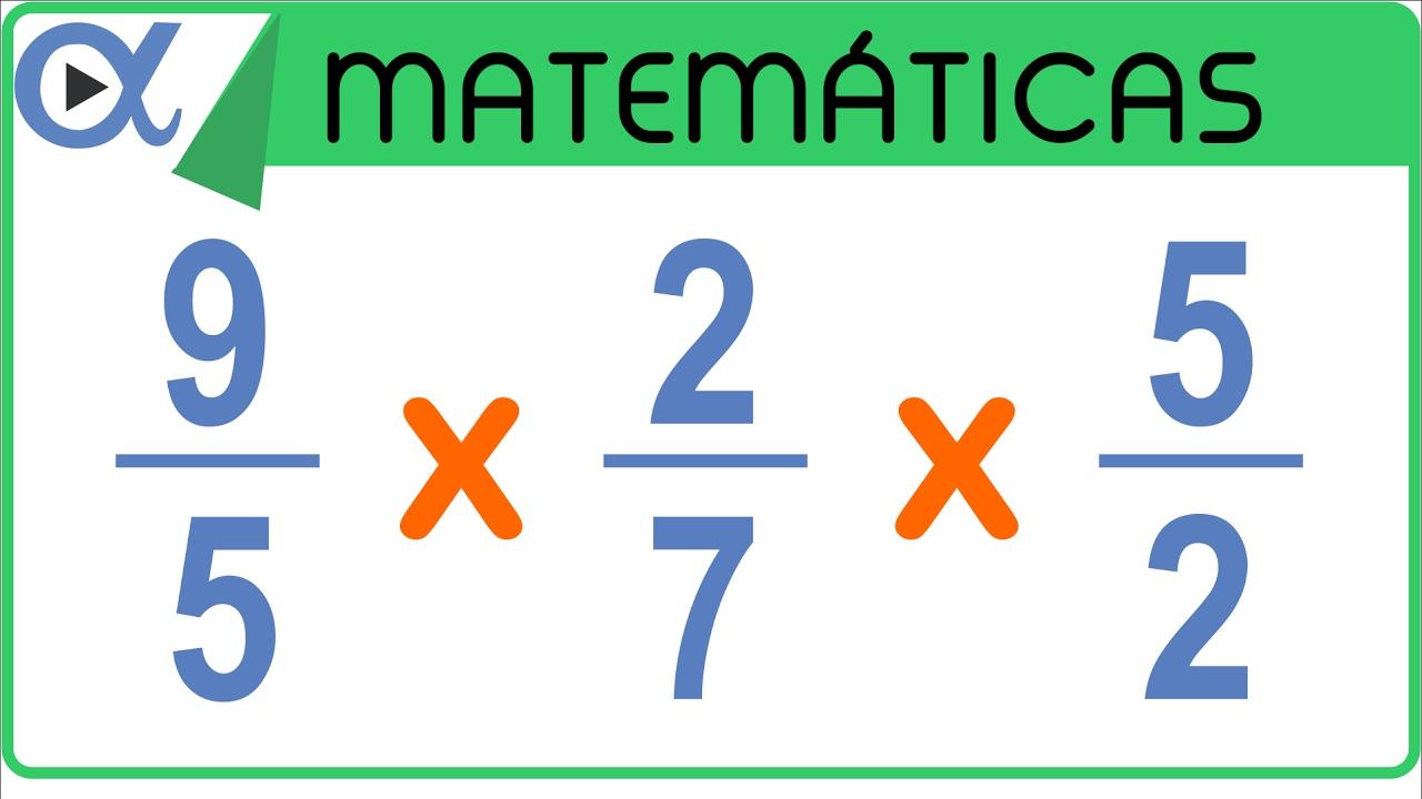 Como multiplicar fracciones