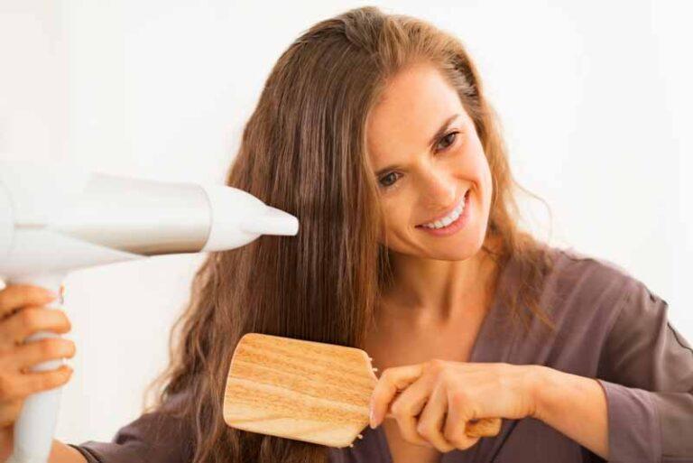 como secarse el pelo correctamente