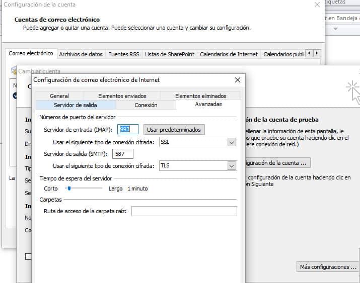 como utilizar el servidor SMTP de Gmail