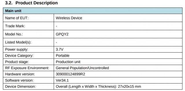 Lista de presuntos Pixel Buds A en FCC