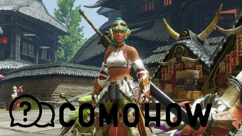 Jugador de mhr con espada larga