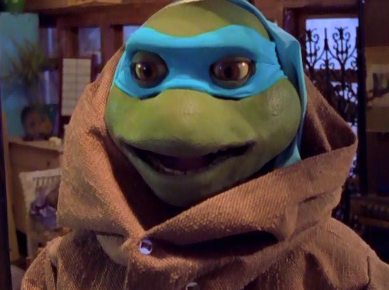 Tortugas Ninja mutantes adolescentes Venus de Milo