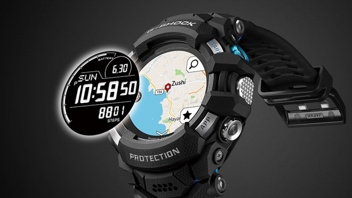 Casio G-Squad Pro es el primer reloj G-Shock con Wear OS