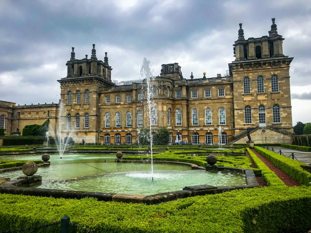 Palacio de Blenheim en Oxford, Reino Unido