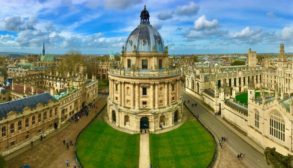 Universidad de Oxford, Reino Unido