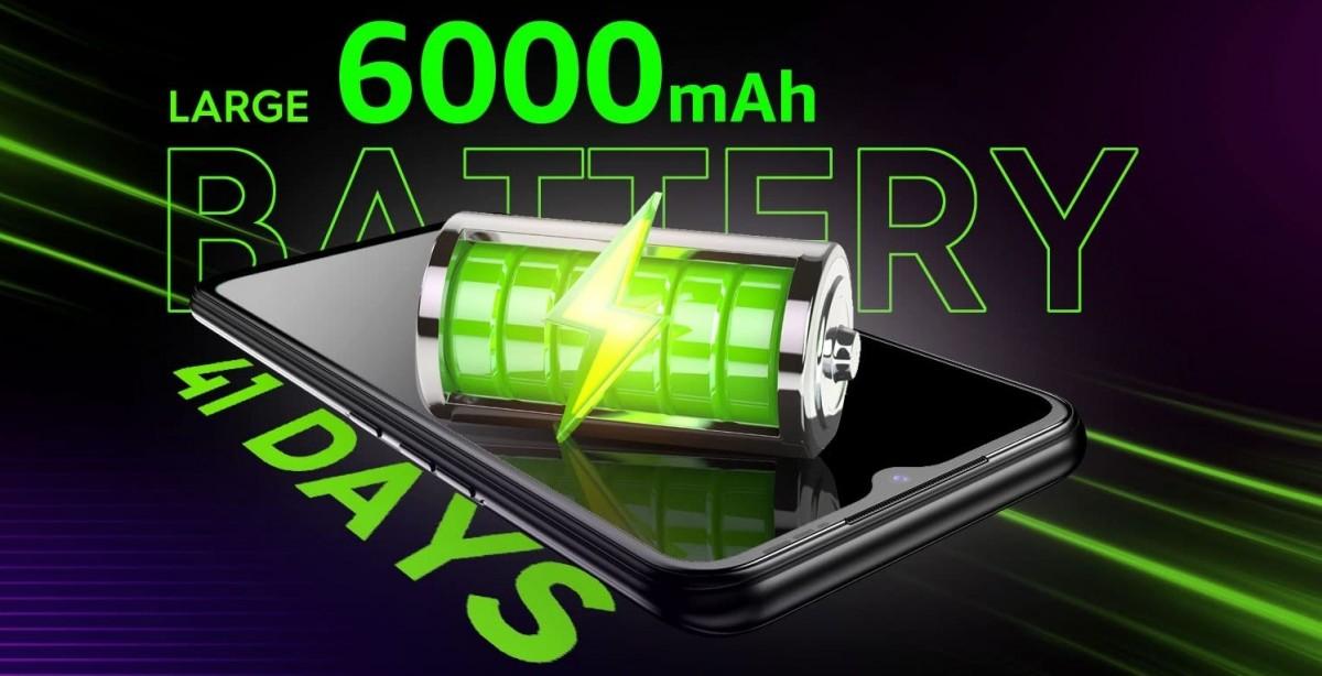 Tecno Spark 7 llega el 9 de abril con batería de 6.000 mAh