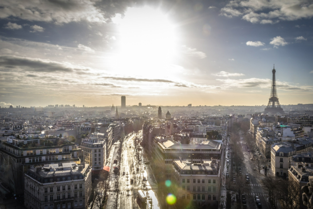 Opera, en el noveno distrito de París, Francia