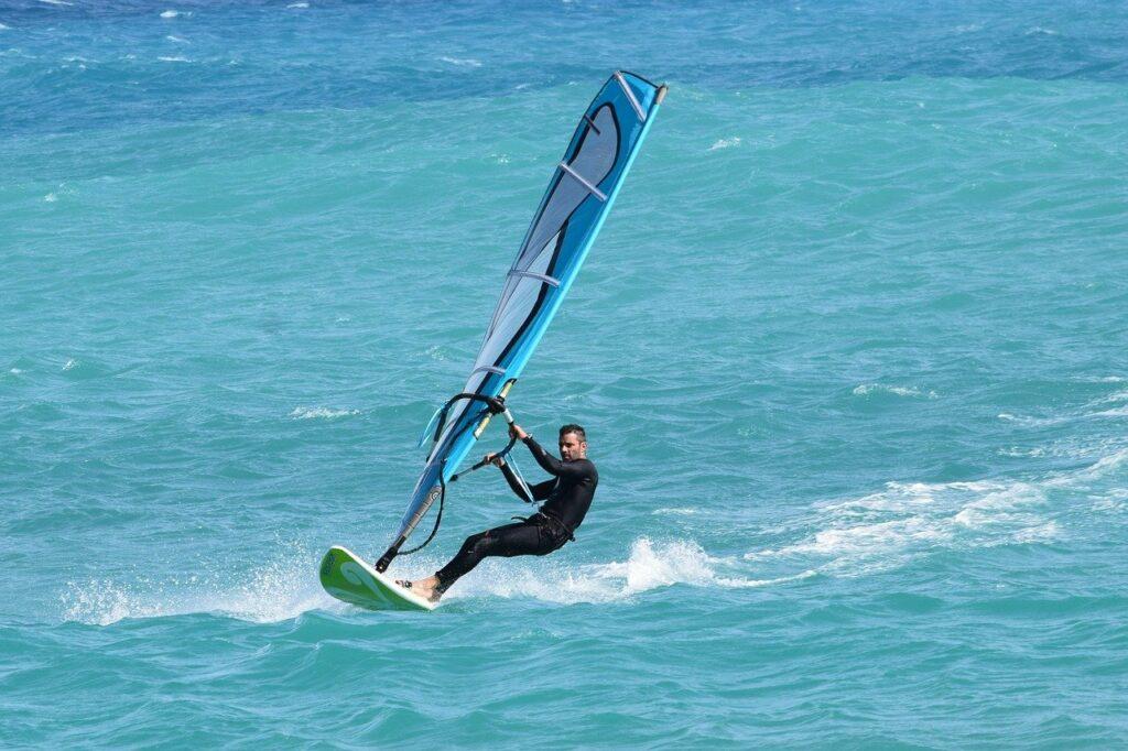 Windsurf en Barcelona