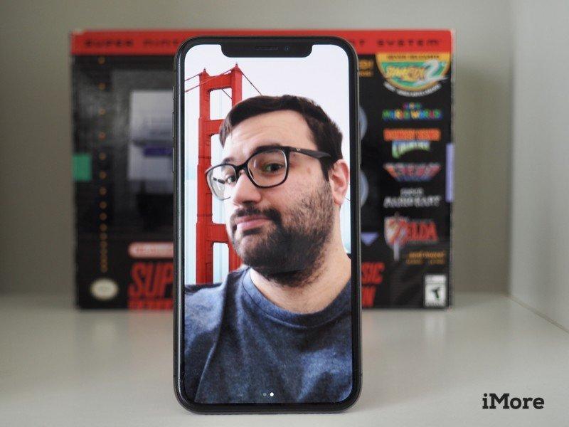 Zoom con fondo virtual usado en Iphone