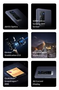 Resalta las características del vivo X60 Pro +