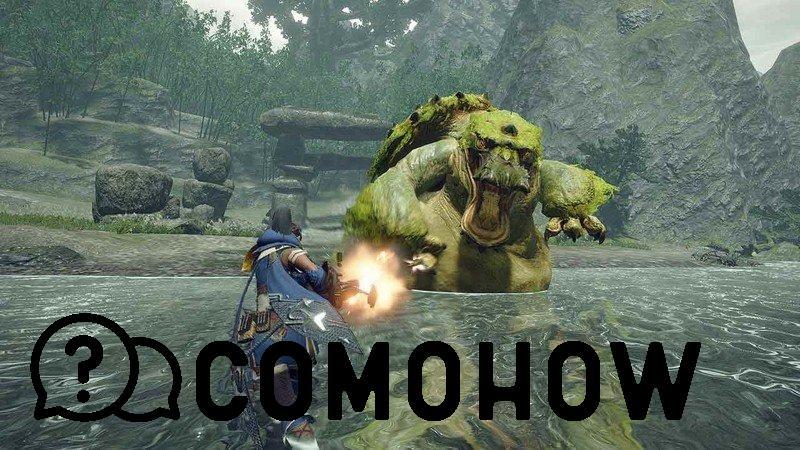 Monster Hunter Rise Disparar Monstruo