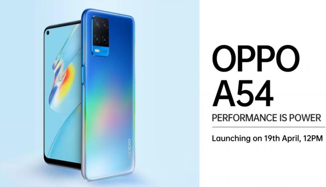 Oppo A54 y A74 5G se lanzan en India la próxima semana
