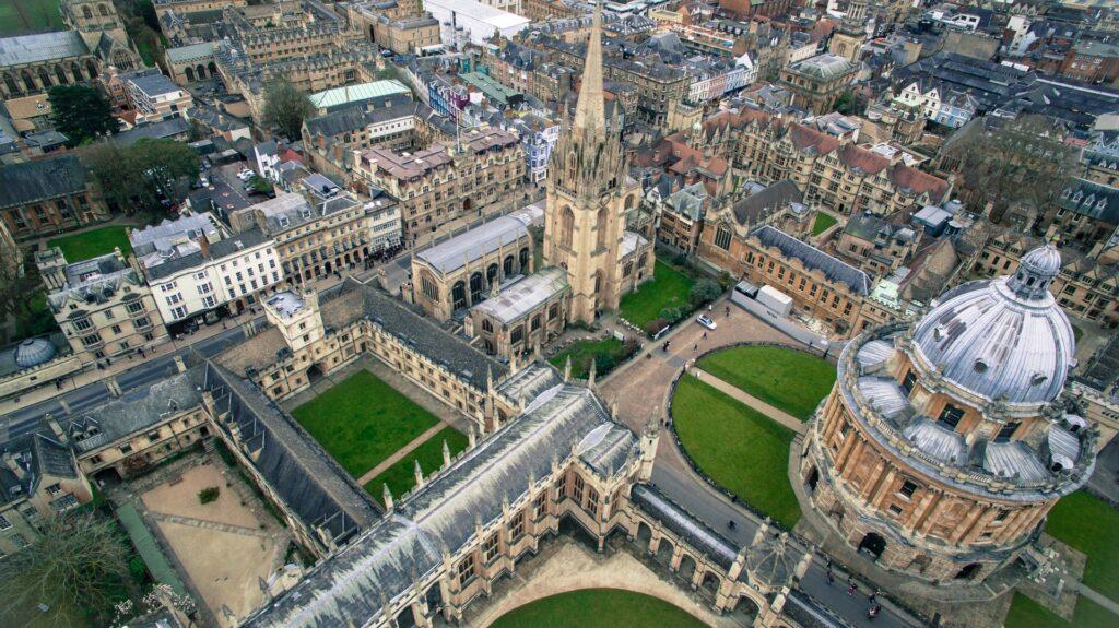 Fin de semana en Oxford, Inglaterra
