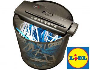 trituradora de papel lidl