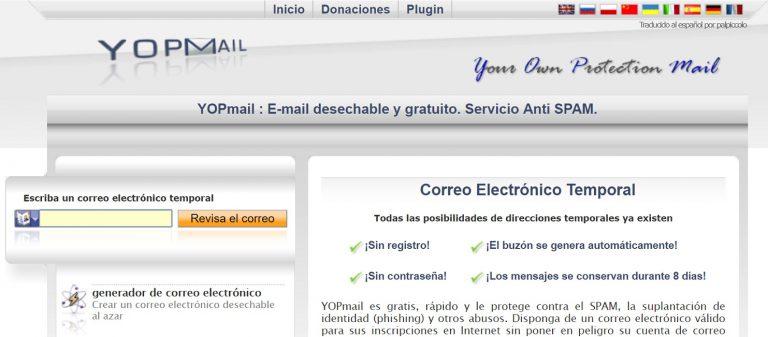 alternativas a YopMail